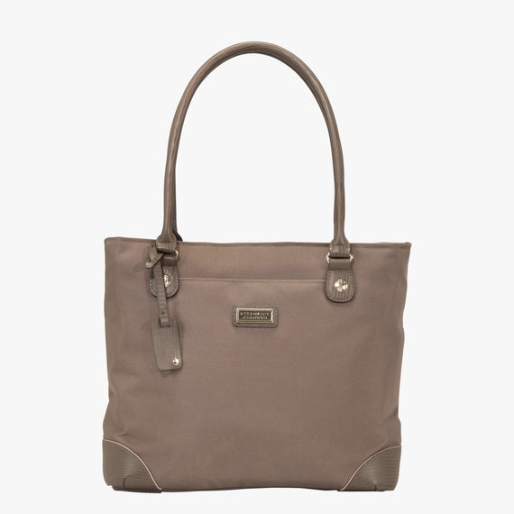 Travel Tote Stephanie Johnson Travel Tote in Mocha in  in Color:Mocha in  in Description:Front
