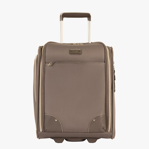 Small Carry-On Stephanie Johnson Under-Seat Carry-On in Mocha in  in Color:Mocha in  in Description:Front