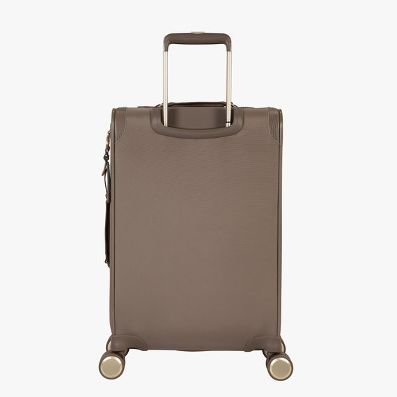 Carry-On Stephanie Johnson 21-Inch Carry-On Suitcase in Mocha in  in Color:Mocha in  in Description:Back