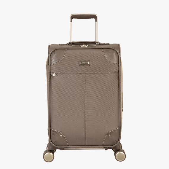 Carry-On Stephanie Johnson 21-Inch Carry-On Suitcase in Mocha in  in Color:Mocha in  in Description:Front