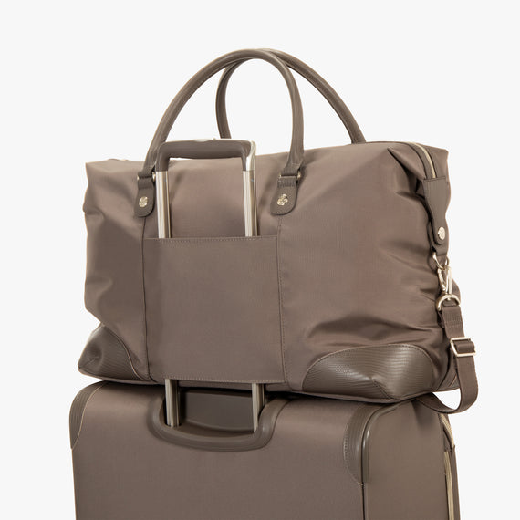 Weekender Duffel Stephanie Johnson Weekender Duffel in Mocha in  in Color:Mocha in  in Description:Backstrap
