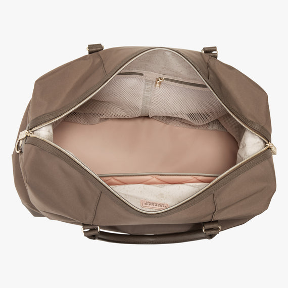 Weekender Duffel Stephanie Johnson Weekender Duffel in Mocha in  in Color:Mocha in  in Description:Open Detail