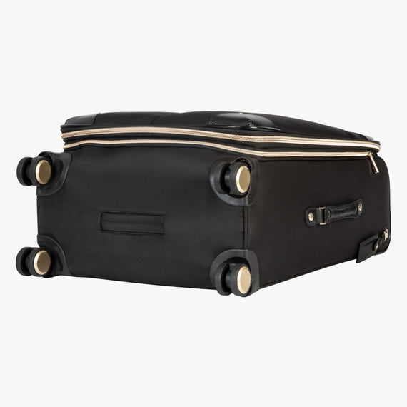 Medium Check-In Stephanie Johnson 26-Inch Check-In Suitcase in Black in  in Color:Black in  in Description:Bottom