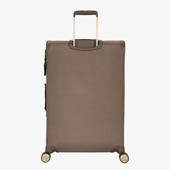 Medium Check-In Stephanie Johnson 26-Inch Check-In Suitcase in Mocha in  in Color:Mocha in  in Description:Back