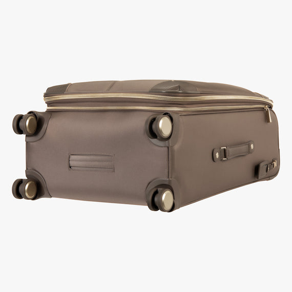 Medium Check-In Stephanie Johnson 26-Inch Check-In Suitcase in Mocha in  in Color:Mocha in  in Description:Bottom