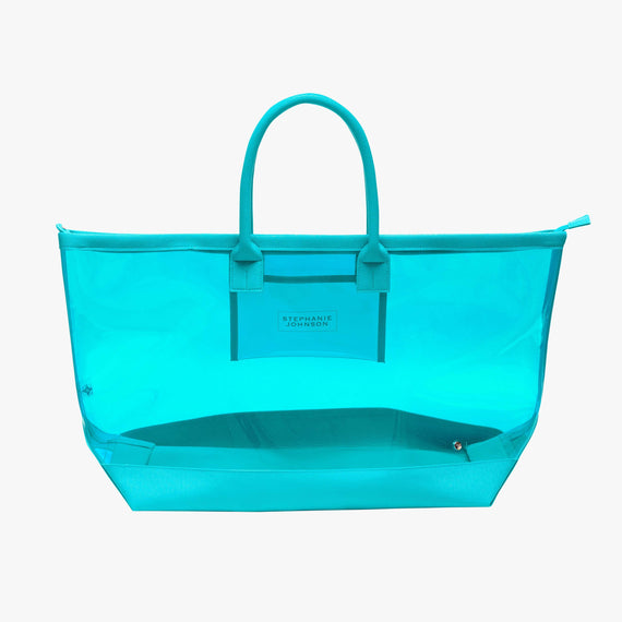 Carry-All Tote Bag - Miami Carry-All Tote Bag in Miami - Blue main view in  in Color:Miami - Blue in  in Description:Front