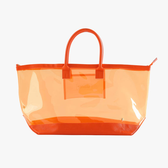 Carry-All Tote Bag - Miami Carry-All Tote Bag in Miami - Orange main view in  in Color:Miami - Orange in  in Description:Front