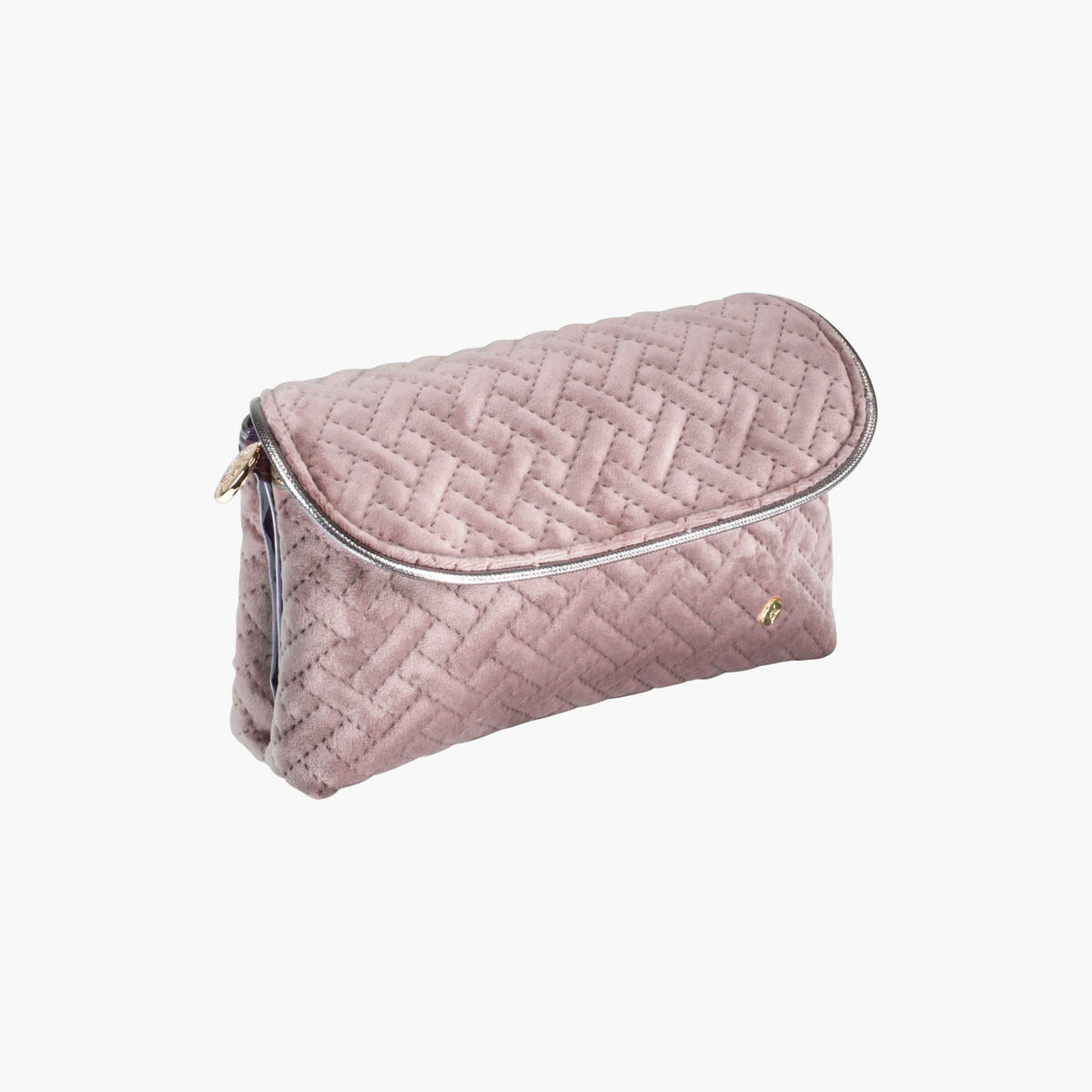 ... Katie Folding Cosmetic Bag Katie Folding Cosmetic in Milan - Dusty Plum  Quarterfront View in in ... 0a9aa8be5f133