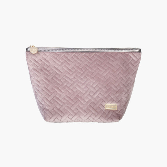 Laura Large Trapezoid Bag Laura Large Trapezoid Bag in Milan - Dusty Plum Front View in  in Color:Milan - Dusty Plum in  in Description:Front