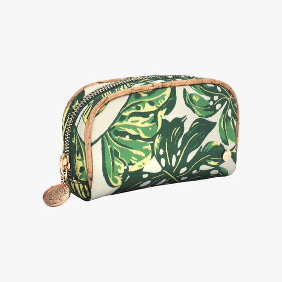 Mini Pouch - Seychelles Seychelles Mini Pouch in Green Quarterfront View in  in Color:Green in  in Description:Angled View