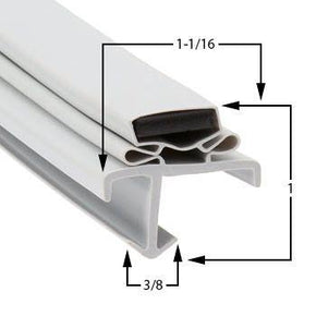 American Panel Cooler Door Gaskets