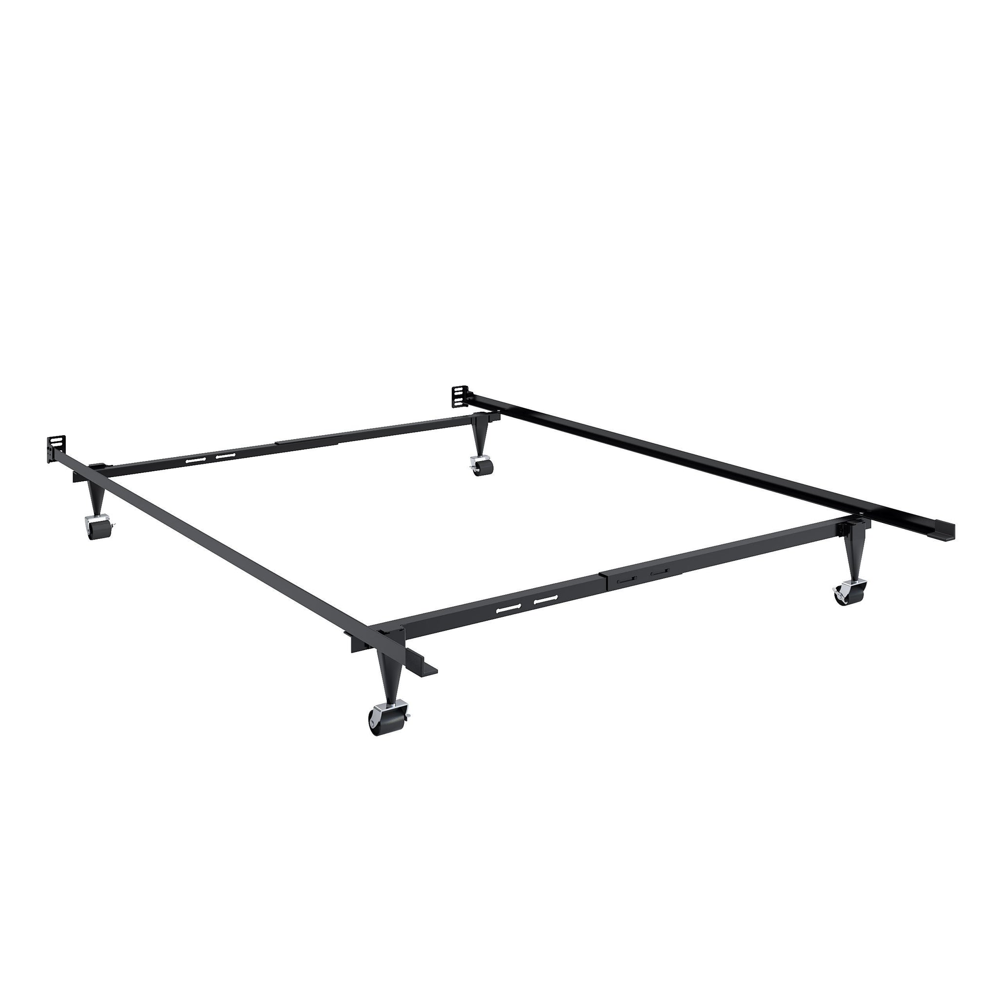 Adjustable Twin Single Or Full Double Metal Bed Frame Corliving Furniture Us