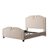 Fairfield Fabric Curved Top Bed, Full/Double- *CLEARANCE*