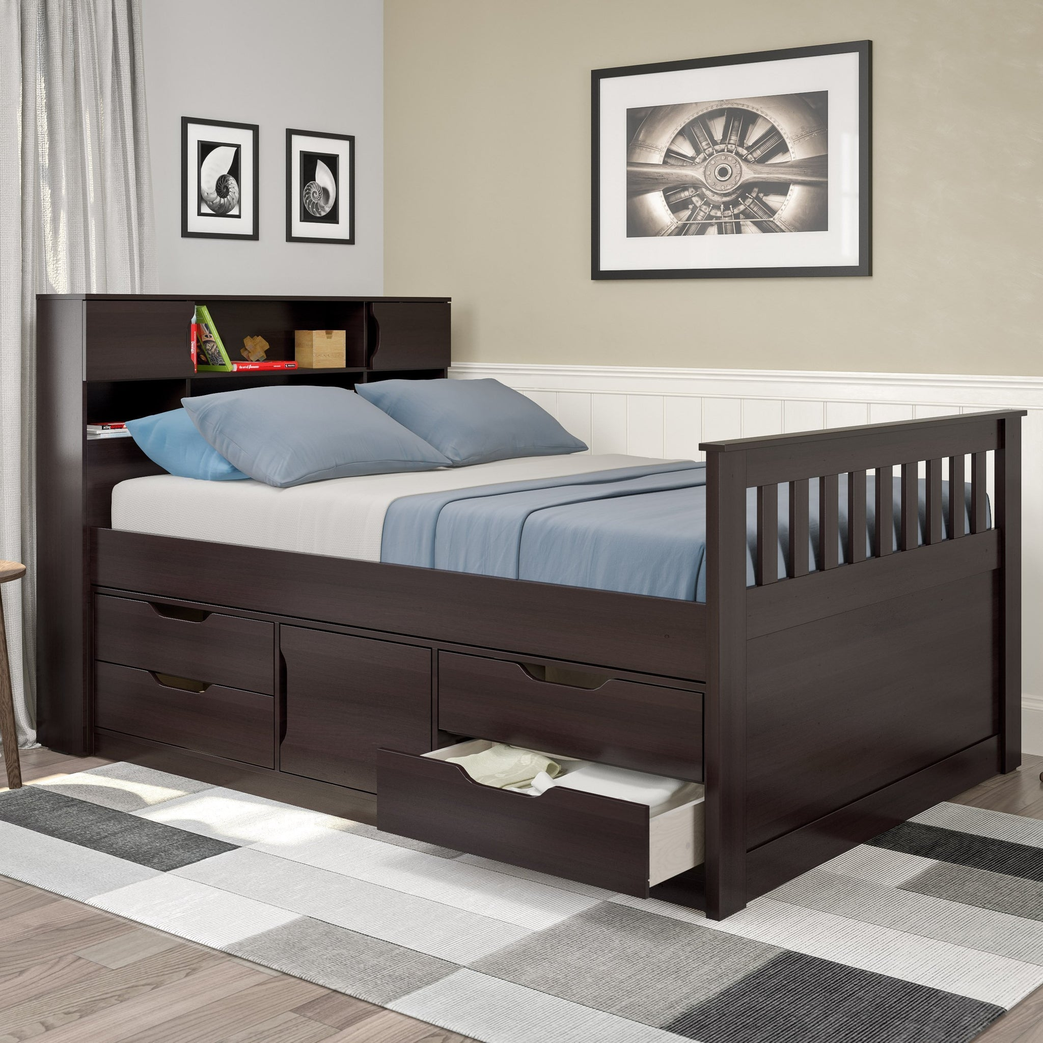 Madison Captain's Bed Full/Double - *CLEARANCE ...