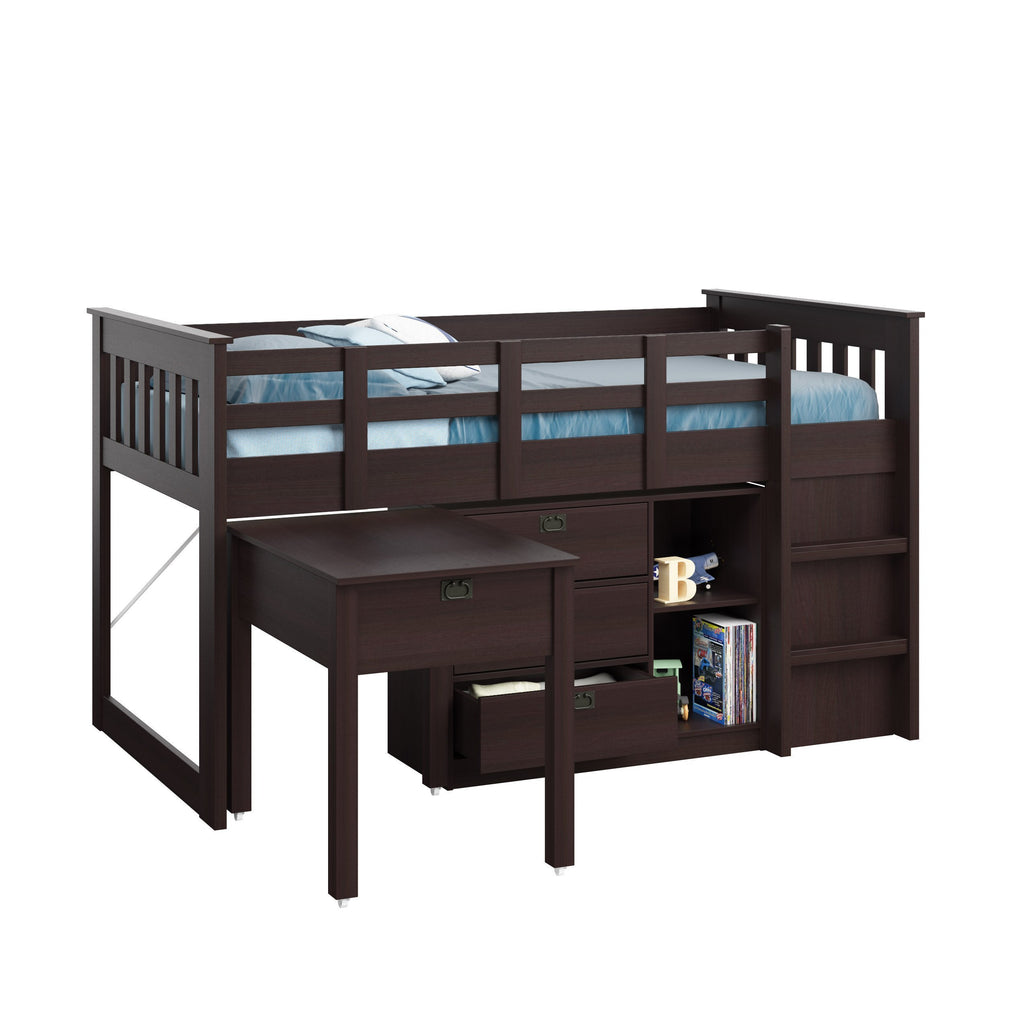 Madison All-in-One Single Loft Bed 4pc - *CLEARANCE*