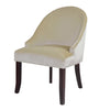 Antonio Curved Accent Chair - *CLEARANCE*