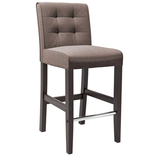Antonio Tweed Fabric Counter Height Bar Stool