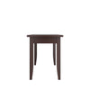 Atwood Black-Brown Stained Dining Bench