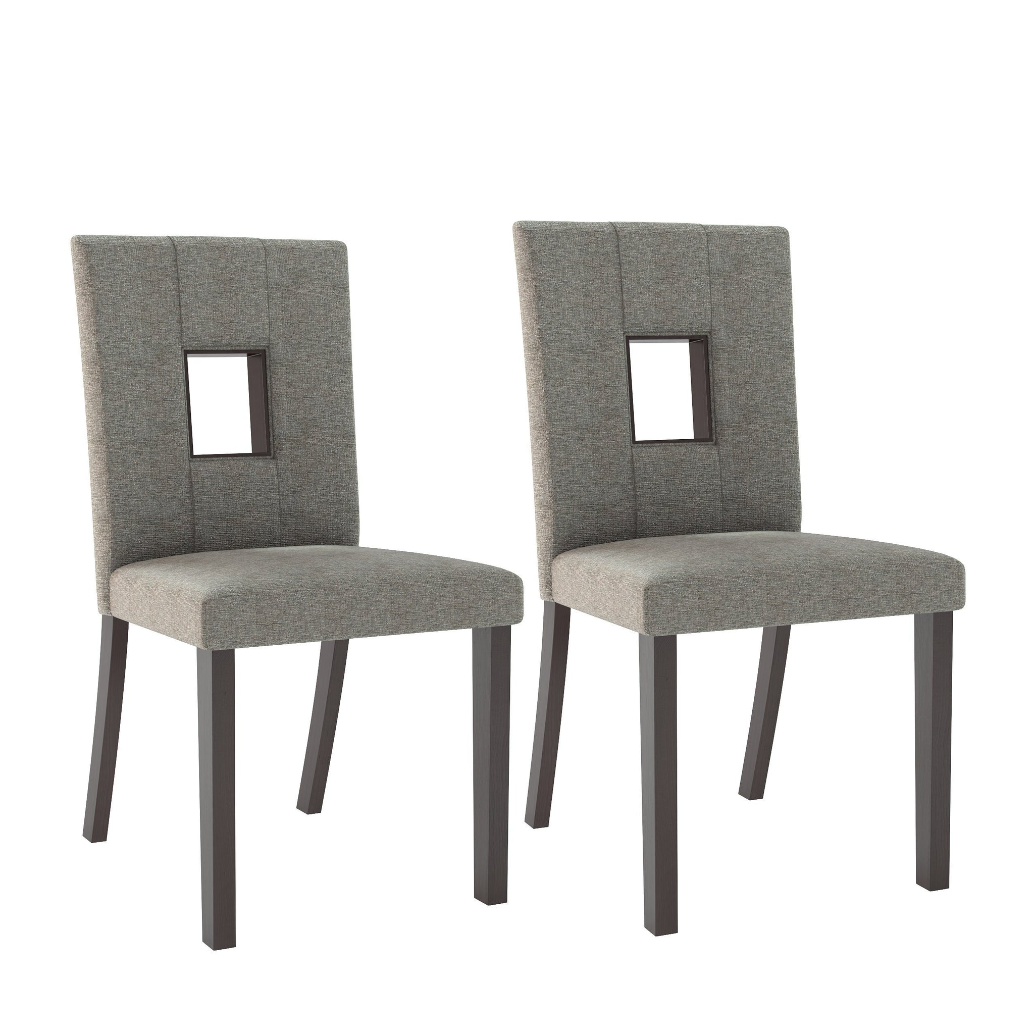 Fabric Dining Height Dining Chairs, Set of 2 - *CLEARANCE*