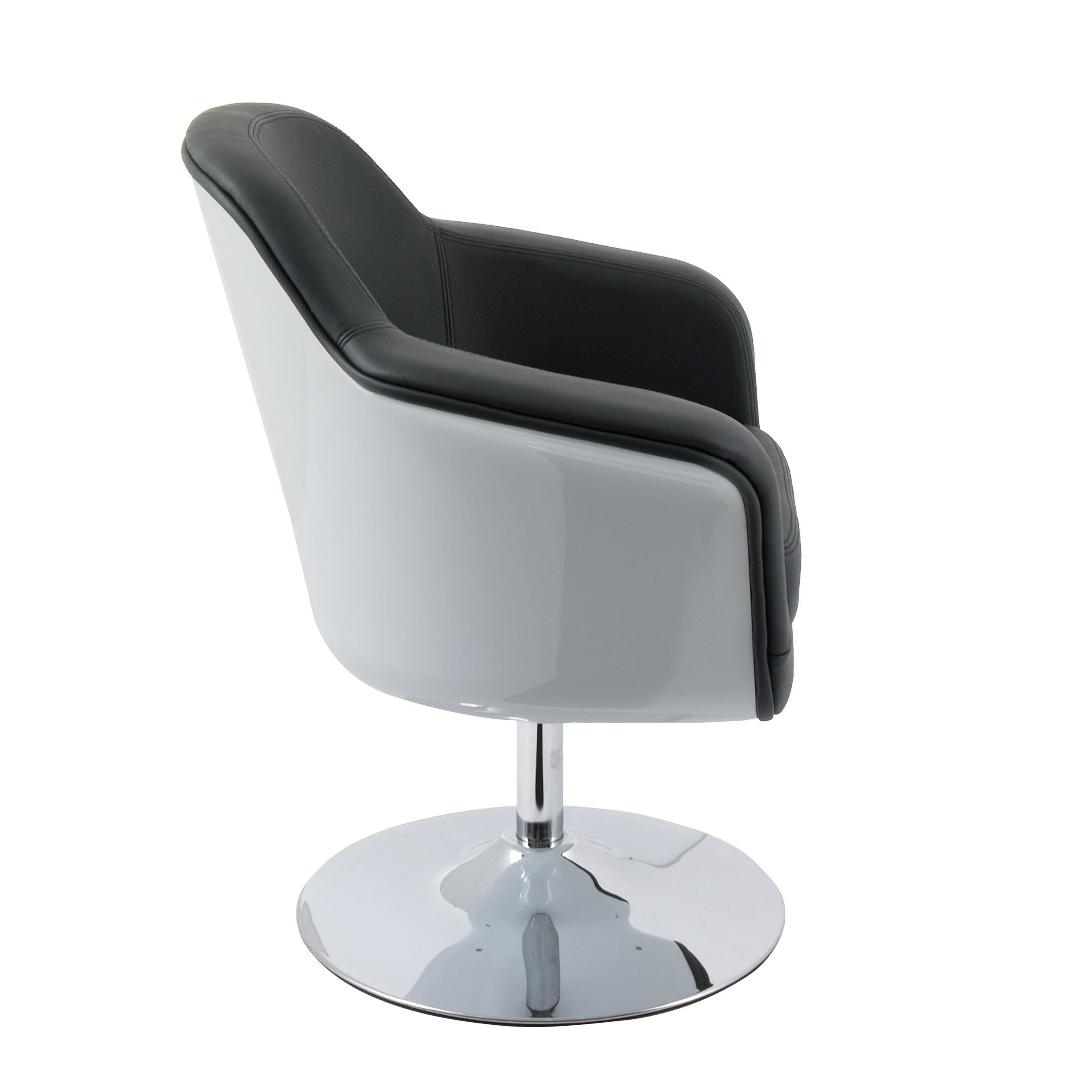 Modern Bonded Leather Accent Chair - *CLEARANCE ...