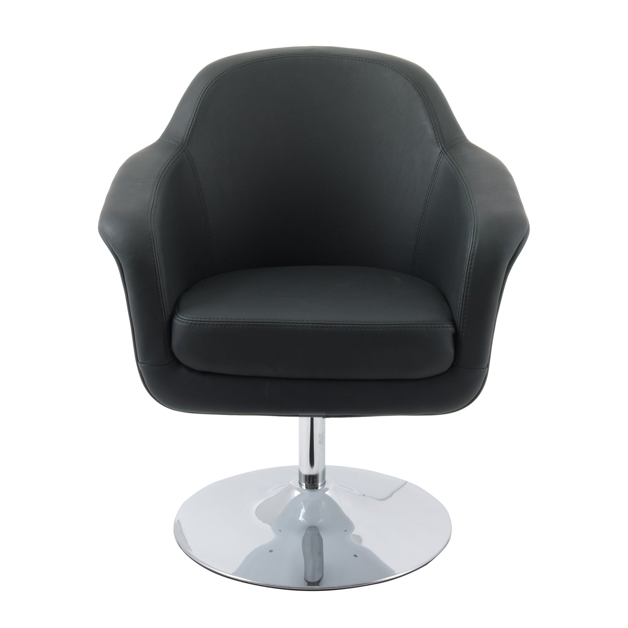 Picture of: Modern Bonded Leather Accent Chair Clearance Final Sale Corliving Furniture Us