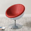 Modern Bonded Leather Circular Chair - *CLEARANCE - Final Sale*