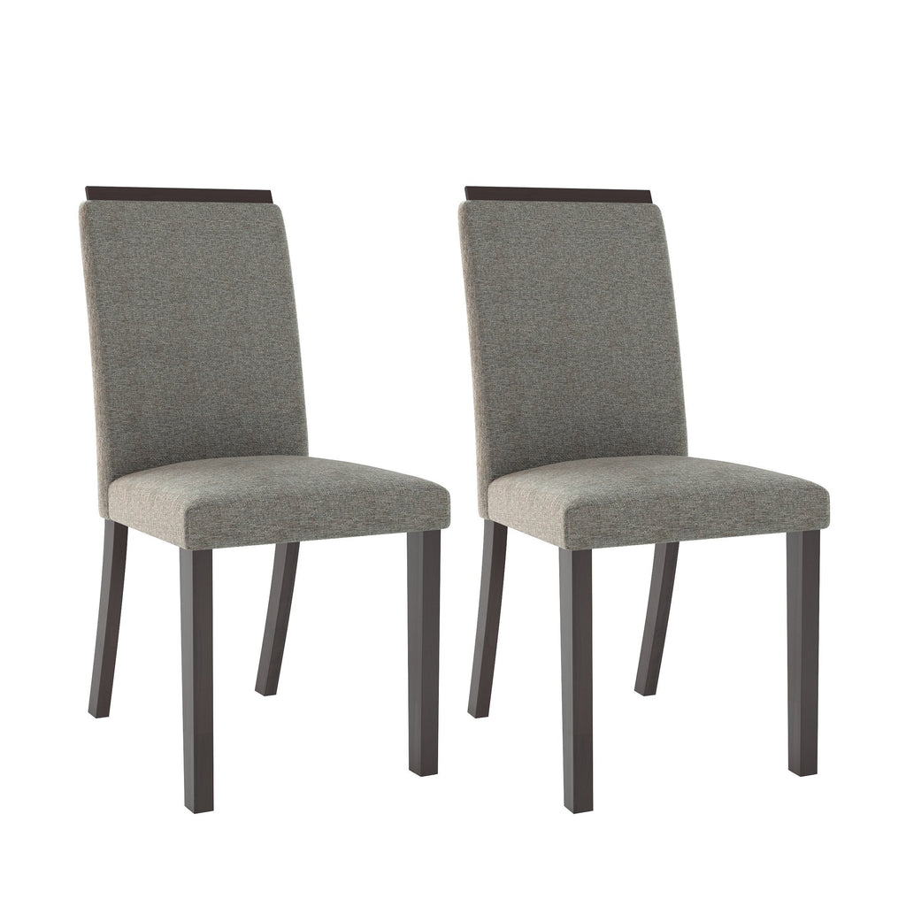 Fabric Dining Chairs, Set of 2- *CLEARANCE*