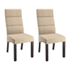 "Bistro Square Backrest Chairs Set of 2 - <body><p style=""color:#ED1C24"";>*CLEARANCE - Final Sale*</p></body>"