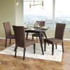 Bistro Fabric Dining Chairs Set of 2 - *CLEARANCE*