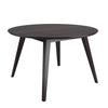 Atwood Round Cappuccino Stained Dining Table - *CLEARANCE*