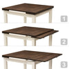 Extendable Dining Table with Two 8in Leaves - *CLEARANCE*