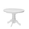 Woodgrove Extendable Oval Pedestal Dining Table with 12in Butterfly Leaf