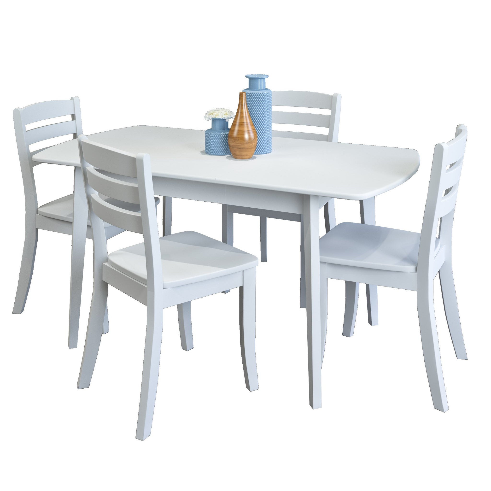 Dining Room Table With Hidden Leaf