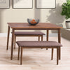 Branson Dining Set with Bench, 3pc