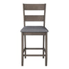 Tuscany Washed Grey Counter Height Dining Chair, Set of 2