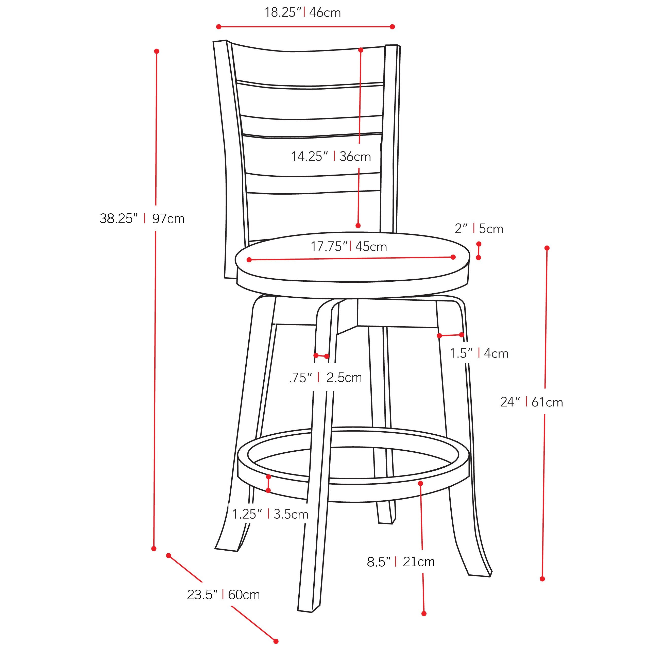 Wondrous Wood Counter Height Bar Stool With White Leatherette Seat And 3 Slat Backrest Bralicious Painted Fabric Chair Ideas Braliciousco