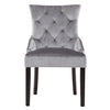 Accent Chair in Velvet, set of 2