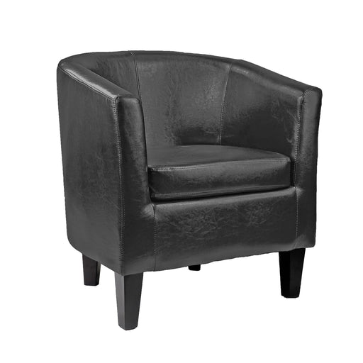 Antonio Leather Tub Chair