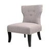 "Antonio Gray Fabric Lounge Chair - <body><p style=""color:#ED1C24"";>*CLEARANCE - Final Sale*</p></body>"