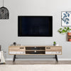 Aurora TV Bench with Splayed Legs, For TVs up to 80""