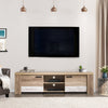 Duotone Extra Chunky TV Bench for TVs up to 80""