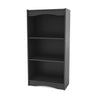 "Hawthorne 48"" Tall Bookcase in Midnight Black"