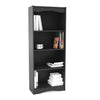 "60"" Tall Bookcase in Midnight Black"