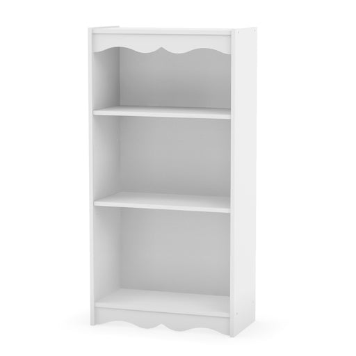 "48"" Tall Bookcase in Frost White"