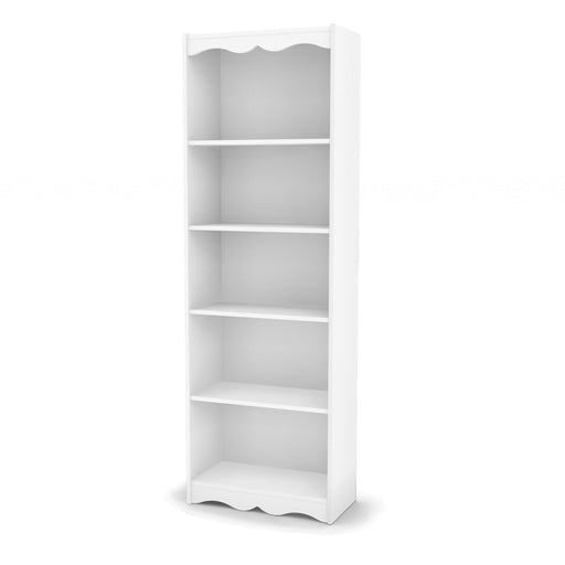 "72"" Tall Bookcase in Frost White"