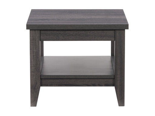 Hollywood Side Table with Shelf
