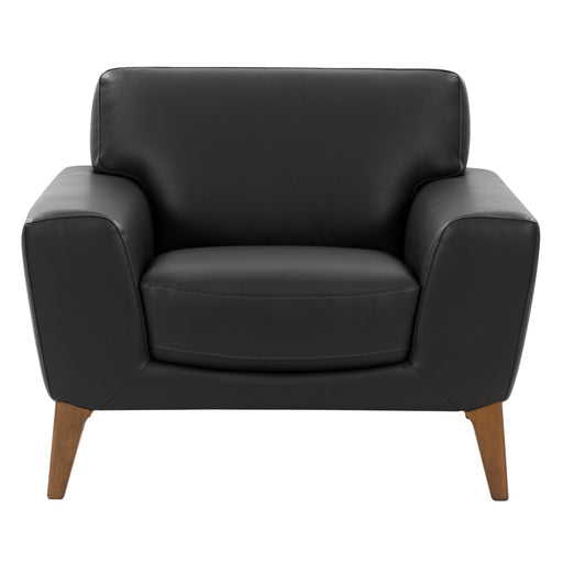 Modern, High-Grade, Durable Faux Leather Low-Profile Chair *Please allow extra time for shipping*