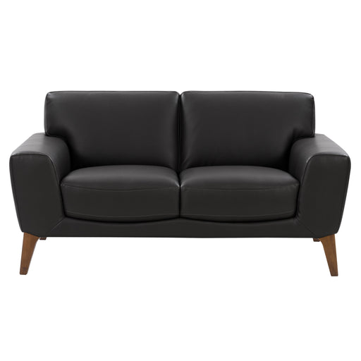 Modern, High-Grade, Durable Faux Leather Low-Profile Loveseat *Please allow extra time for shipping*