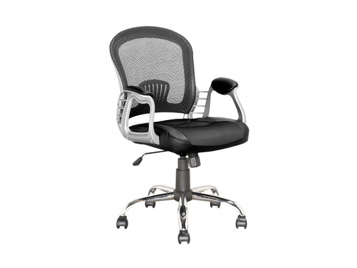 Office Chair in Leatherette and Mesh