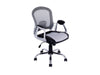 Workspace Office Chair in Leatherette and Mesh